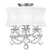 Livex Lighting Newcastle Convertible Drum Pendant