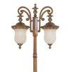 Livex Lighting Savannah 2 Light Outdoor Post Lantern