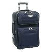 """Traveler's Choice Amsterdam 21"""" Rolling Carry On"""