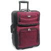 """Traveler's Choice Amsterdam 29"""" Expandable Rolling Upright in Burgundy"""