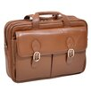 McKlein USA S Series Kenwood Leather Laptop Briefcase