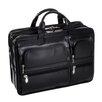 McKlein USA P Series Hubbard Leather Laptop Briefcase