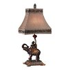 "Dimond Lighting Monkey on Elephant Accent 23.5"" H Table Lamp with Empire Shade"