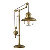 """Dimond Lighting Farmhouse 32"""" H Table Lamp with Bell Shade"""