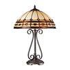 "Dimond Lighting Diamond Ring 23"" H Table Lamp with Bowl Shade"