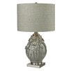 """Dimond Lighting Hand Formed Foliage 27"""" Table Lamp with Drum Shade"""