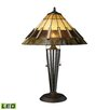 """Dimond Lighting Porterdale 23"""" H Table Lamp with Cone Shade"""