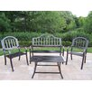 Oakland Living Rochester 4 Piece Lounge Seating Group Set