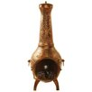 Oakland Living Dragonfly Cast Iron Wood Chiminea