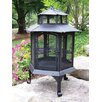 Oakland Living Cast Iron Wood Pagoda Fire Pit