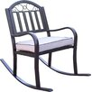 Oakland Living Rochester Rocking Chair with Cushion