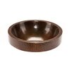 Premier Copper Products Round Skirted Vessel Bathroom Sink