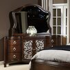 Liberty Furniture 6 Drawer Combo Dresser with Mirror