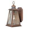 Vaxcel Mackinac 1 Light Wall Lantern