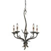 Vaxcel Monterey 5 Light Candle Chandelier