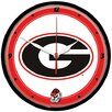 """Wincraft, Inc. Collegiate 12.75"""" Round Clock - University of Georgia"""