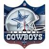 Wincraft, Inc. NFL High Def Plaque Wall Clock
