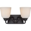 Nuvo Lighting Calvin 2 Light Vanity LIght