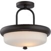 Nuvo Lighting Dylan 2 Light Semi Flush Mount