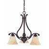 Nuvo Lighting Anastasia 3 Light Chandelier