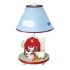 "Guidecraft Farm Friends 19"" H Table Lamp with Empire Shade"