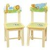 Guidecraft Savanna Smiles Kids Desk Chair (Set of 2)