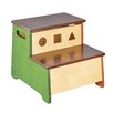 Guidecraft See and Store 2-Step Birch Wood Step Stool