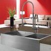 """Vigo 36"""" x 22.25"""" Double Bowl Farmhouse Kitchen Sink"""