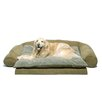 Zoey Tails Ortho Sleeper Comfort Couch Bolster Dog Bed