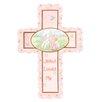 Precious Moments Jesus Loves Me Cross Baby Girl Figurine Hanging Art
