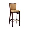 Regal Lattice Back Bar Stool