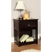 Discovery World Furniture Espresso 1 Drawer Nightstand