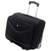 "Olympia Deluxe 14"" Rolling Overnighter Business Tote"