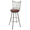"Stone County Ironworks Ranch 25"" Swivel Bar Stool with Cushion"