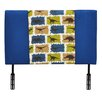 Kidz World Mixy Twin Upholstered Headboard