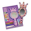 Melissa & Doug Decorate-Your-Own Princess Mirror Arts & Crafts Kit