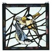 Meyda Tiffany Lodge Tiffany Early Morning Visitors Stained Glass Window
