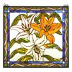 Meyda Tiffany Tiffany Tigerlily Stained Glass Window