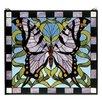 Meyda Tiffany Butterfly Stained Glass Window