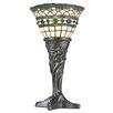 """Meyda Tiffany Tiffany 14"""" H Table Lamp with Bell Shade"""