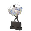 """Meyda Tiffany Butterfly Silhouette Girl 15"""" H Table Lamp"""