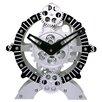 "Maples Clock 9"" Moving Gear Desktop Clock"