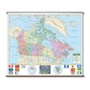 Universal Map Primary Wall Map - Canada