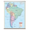 Universal Map Essential Wall Map - South America