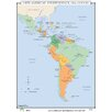 Universal Map World History Wall Maps - Latin American Independence