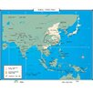 Universal Map World History Wall Maps - Asia 1930-1941