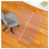 ES Robbins Corporation Foldable Rectangle Chair Mat, Task Series for Hard Floors