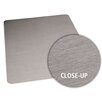 ES Robbins Corporation Brushed Stainless Design Chair Mat