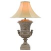 """Anthony California 34"""" H Table Lamp with Bell Shade"""