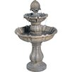 Bond Manufacturing Patella Fiberglass 2 Tiered Fountain